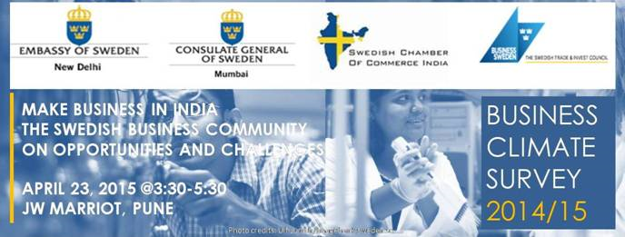 Pune: Make Business in India The Swedish Business Community on Opportunities and Challenges