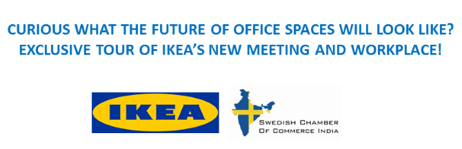 EXCLUSIVE TOUR OF IKEA'S NEW MEETING AND WORKPLACE!