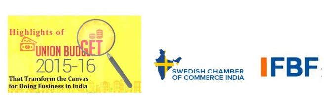 Swedish Chamber and Indo-Finnish Business Forum's Knowledge Session on Business Climate Survey 2014-15 and Highlights of Union Budget 2015-16-Chennai